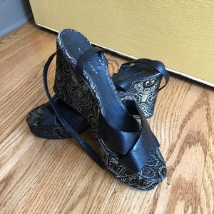 Nine West StrapWedges